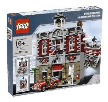 juguetes de construcción,juguetes lego bomberos 10197 gr..