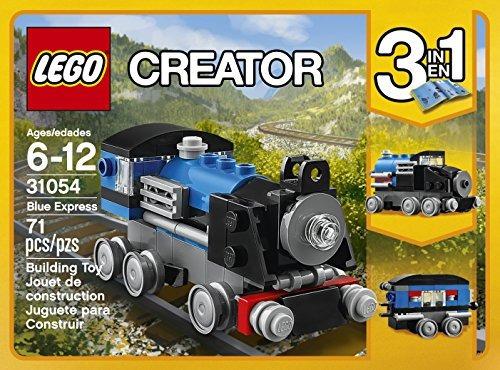 juguetes de construcción,lego creator express blue kit 3..