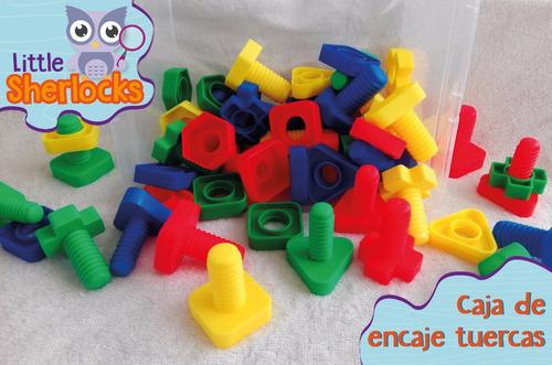 juguetes de encaje - material didactico