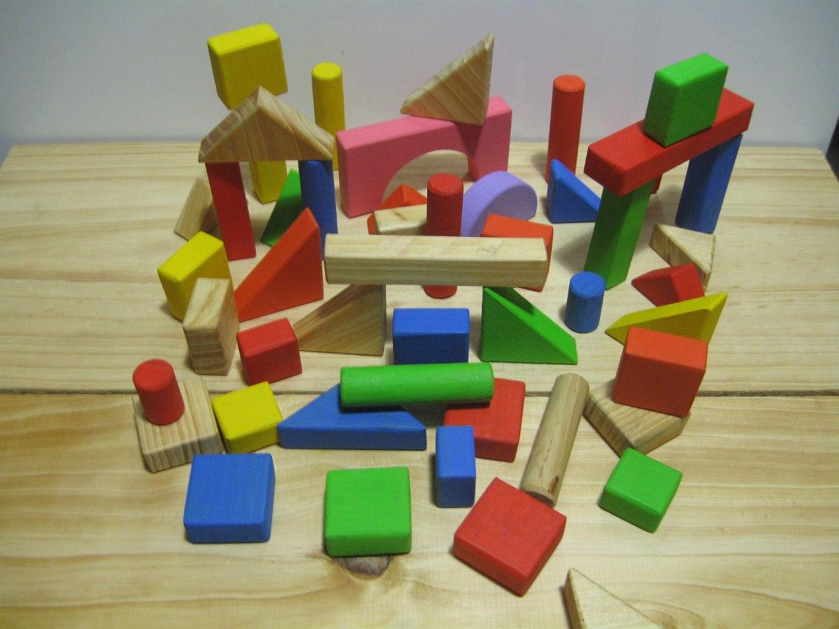 juguetes de madera tacos de figuras geometricas bs 5