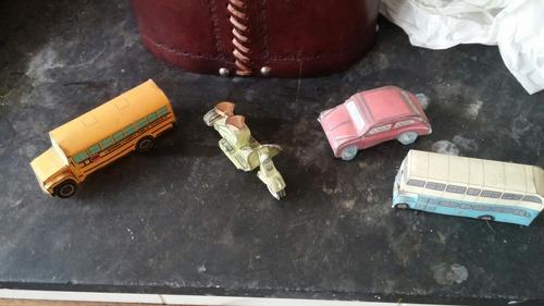 juguetes de papel hechos a mano artesanal vintage adorno