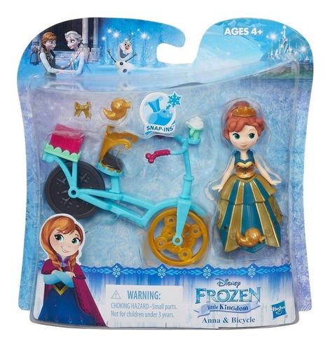 juguetes - frozen anna o elsa con accesorios - giro