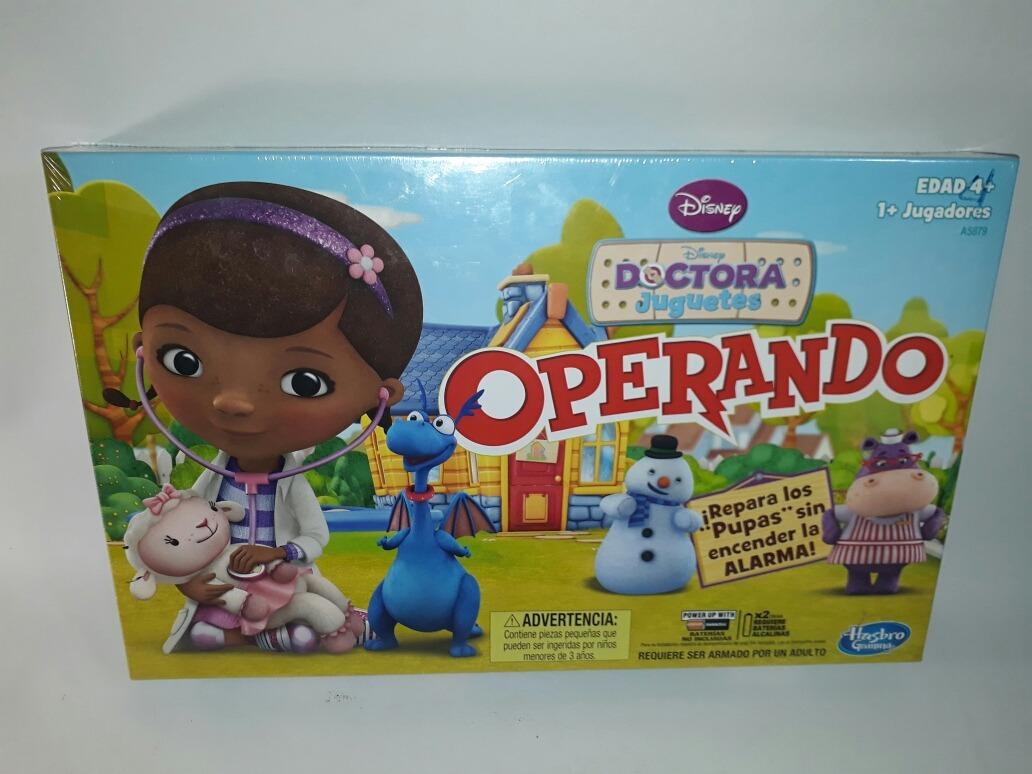 Operando Doctora Juguetes Juego De Mesa Disney Hasbro 649 00