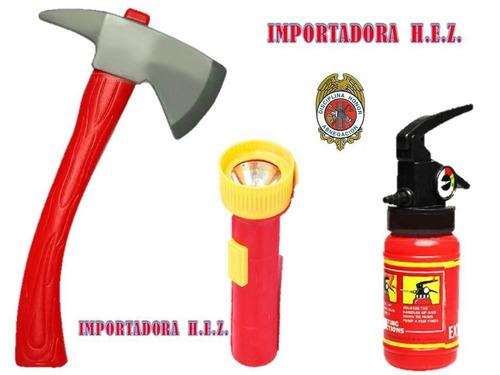 juguetes juegos kit de bombero