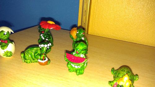 juguetes kinder sorpresa lote tortugas 1991