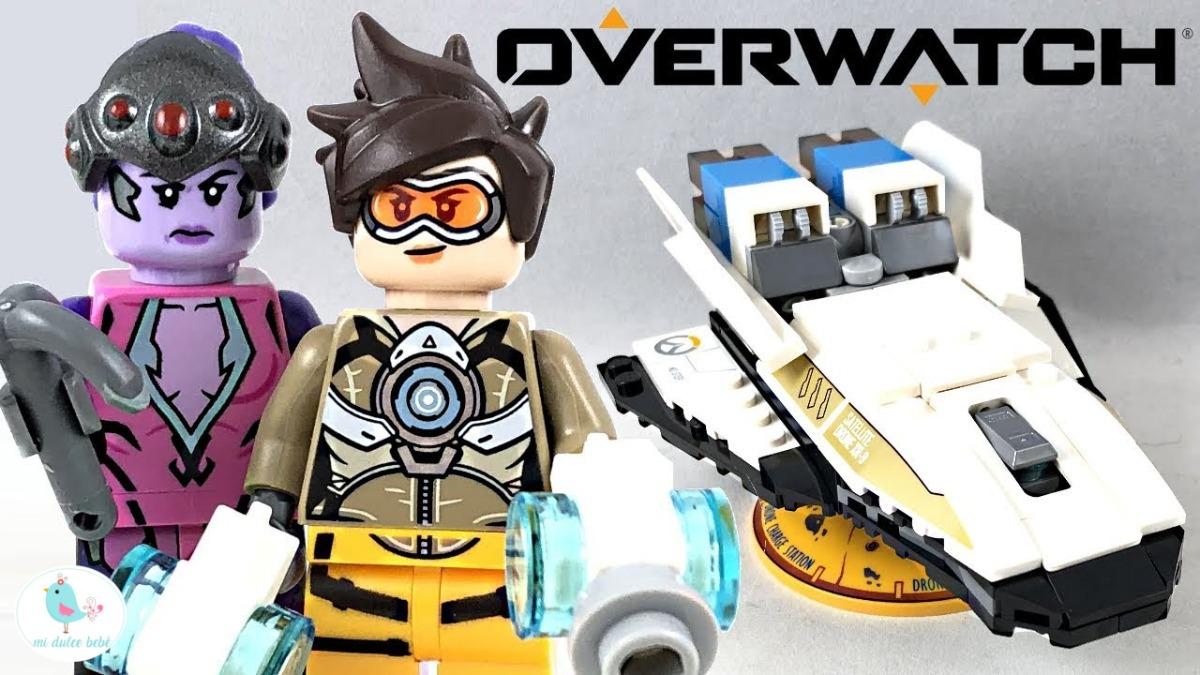 Widowmaker 75970 LEGO® Overwatch Tracer vs