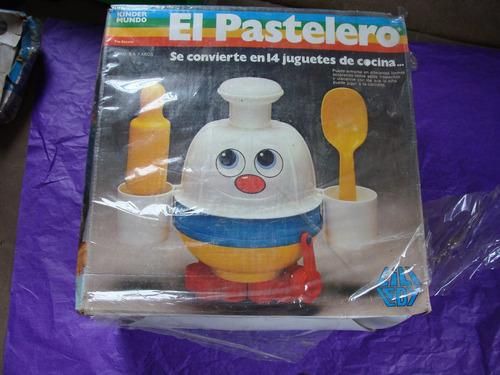 juguetes lili ledy kinder mundo, el pastelero,  de los 80s,