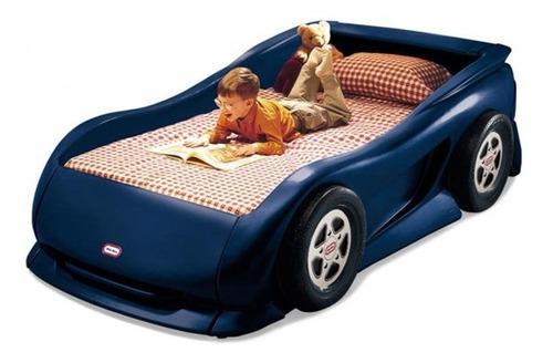 juguetes little tikes cama de coche azul