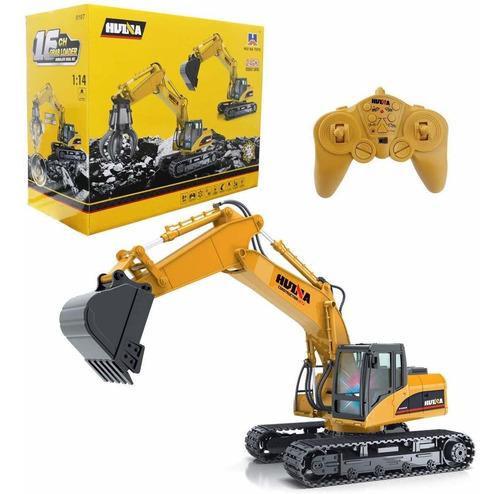 juguetes, metal excavadora huina.