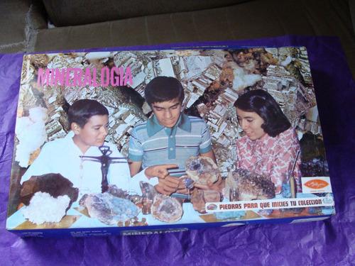 juguetes, mineralogia mi alegria, como de los 80s, como nuev