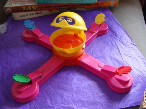 juguetes, mr. mouth, 1976, marca tomy,  en su caja, casi com