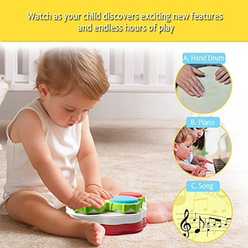 juguetes musicales, amosting música piano teclado tambores j