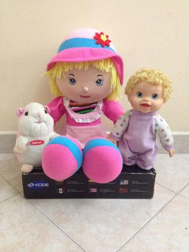 juguetes niñas muñecas peluches osos chatimals barato remate
