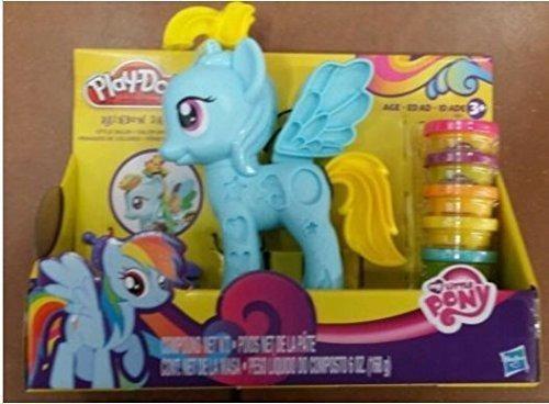 juguetes niños hasbro play-doh my little pony rainbow dash e