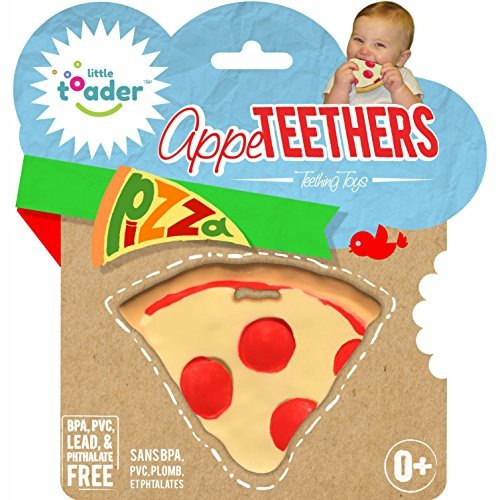 juguetes para dentición pizza sin bpa appeteether