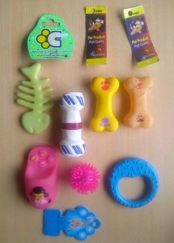 juguetes para perros combo por 7 unidades oferta!!!