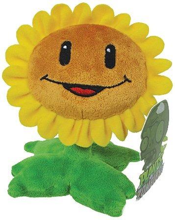 juguetes peluche plantas vs zombies girasol amarillo