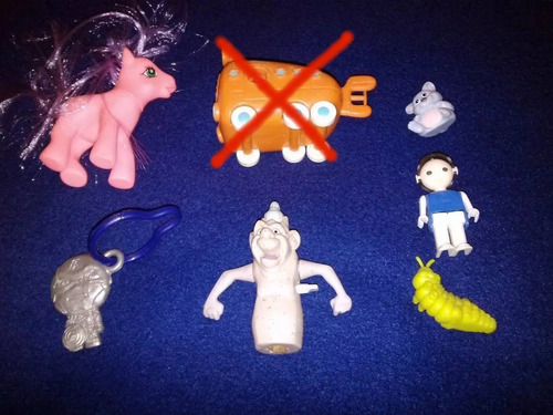 juguetes pequeño pony disney capitan america calamardo vario