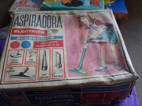 juguetes, plastimarx, aspiradora electrica de los 80s, casi