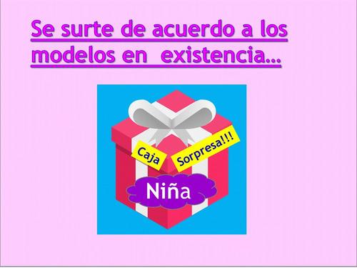 juguetes regalos caja sorpresa niña fiesta 20 pzas + envio