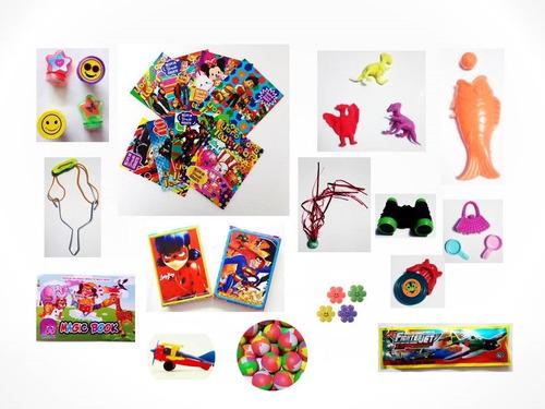 juguetes regalos fiestas piñatas infantiles 50 pzas