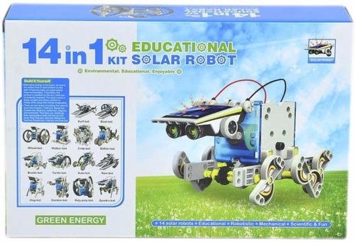 juguetes robotica solar kit 13 en 1 educativos para navidad