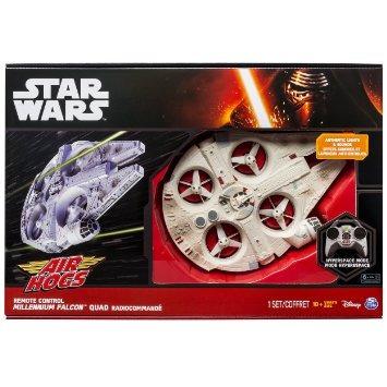 juguetes star wars control remoto último halcón milenario