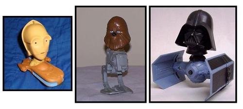 juguetes star wars the clone wars mcdonald´s