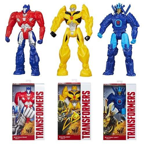 juguetes transformers  bumblebee figura titan 30 cm / hasbro