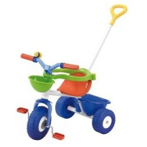 juguetes triciclo con embrague blue metal 3075 rondi