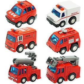 Motor Juguetes De Fuego Coche Bomberos Vehículos Uiiq ZNOP08knwX