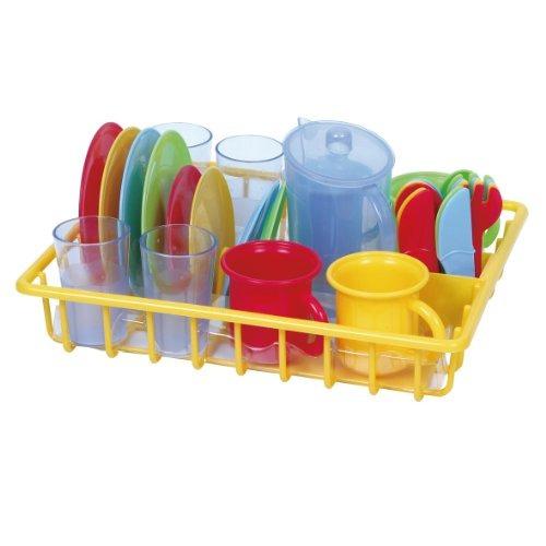 juguetes vajilla playgo amarillo