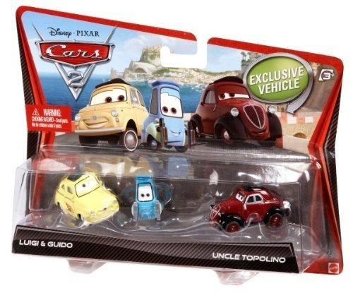 juguetes vehículos cars-2 blanco