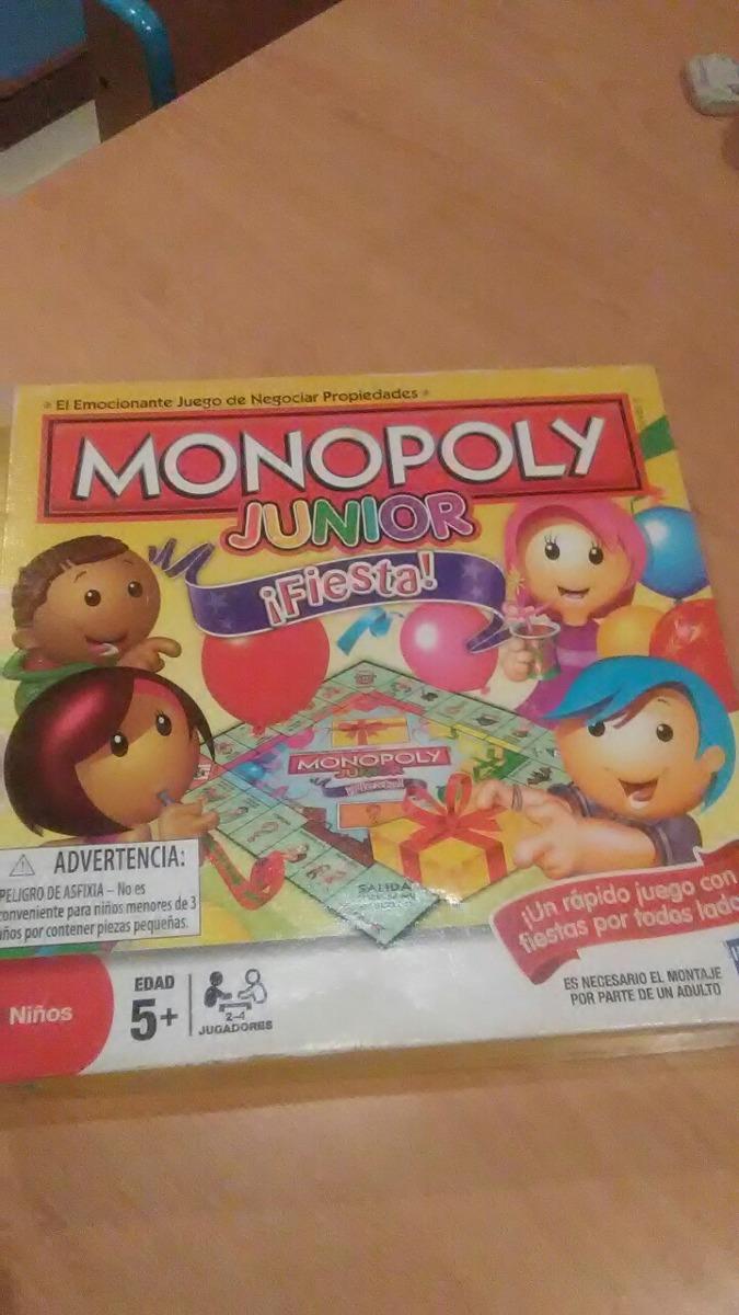 Juguetes Y Juegos De Mesa Monopoly Junior Bs 586 00