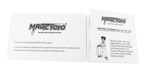 juguetes yoyo magia profesional con cadena