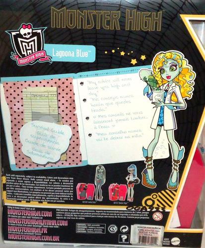 juguetibox: monster high classroom lagoona blue mad science