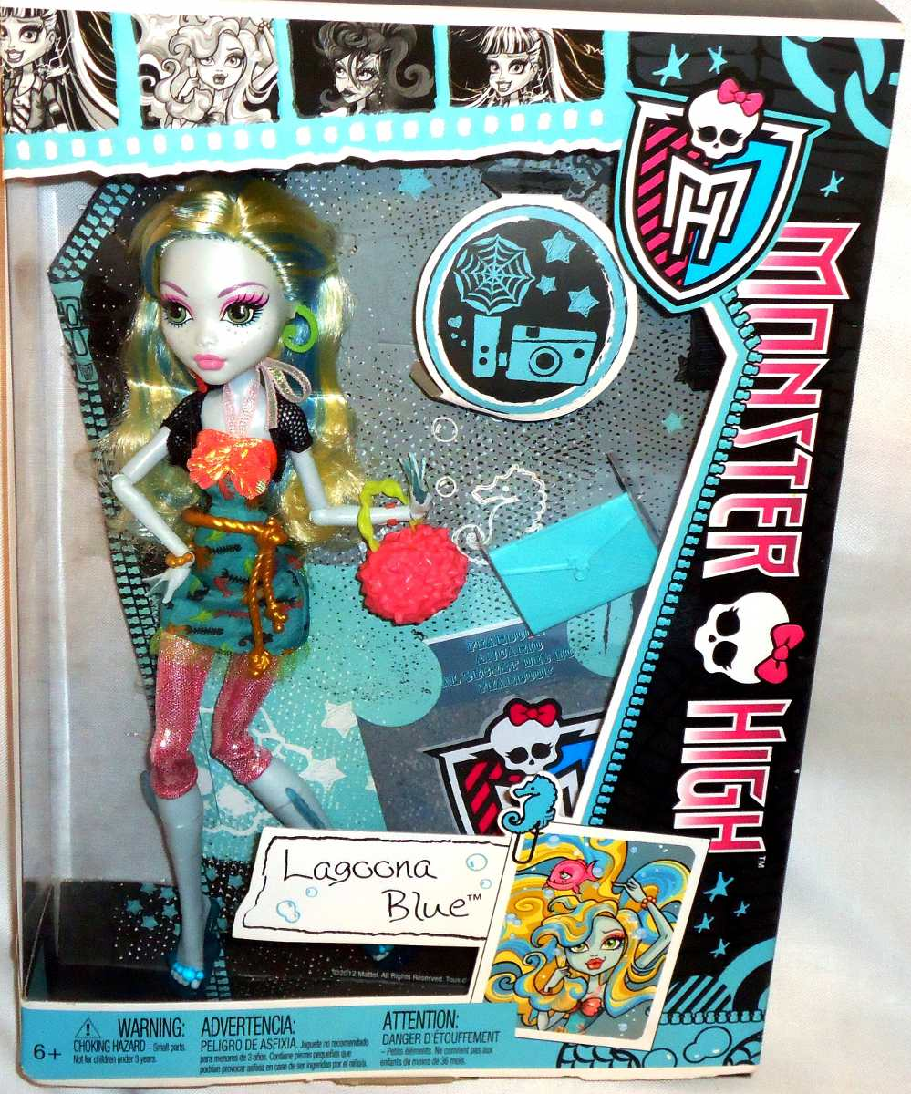 Juguetibox: Monster High Lagoona Blue Picture Day