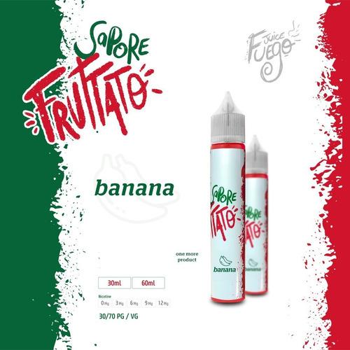 juice fuego - caixa 12 frascos 30ml - linha sapore fruttato
