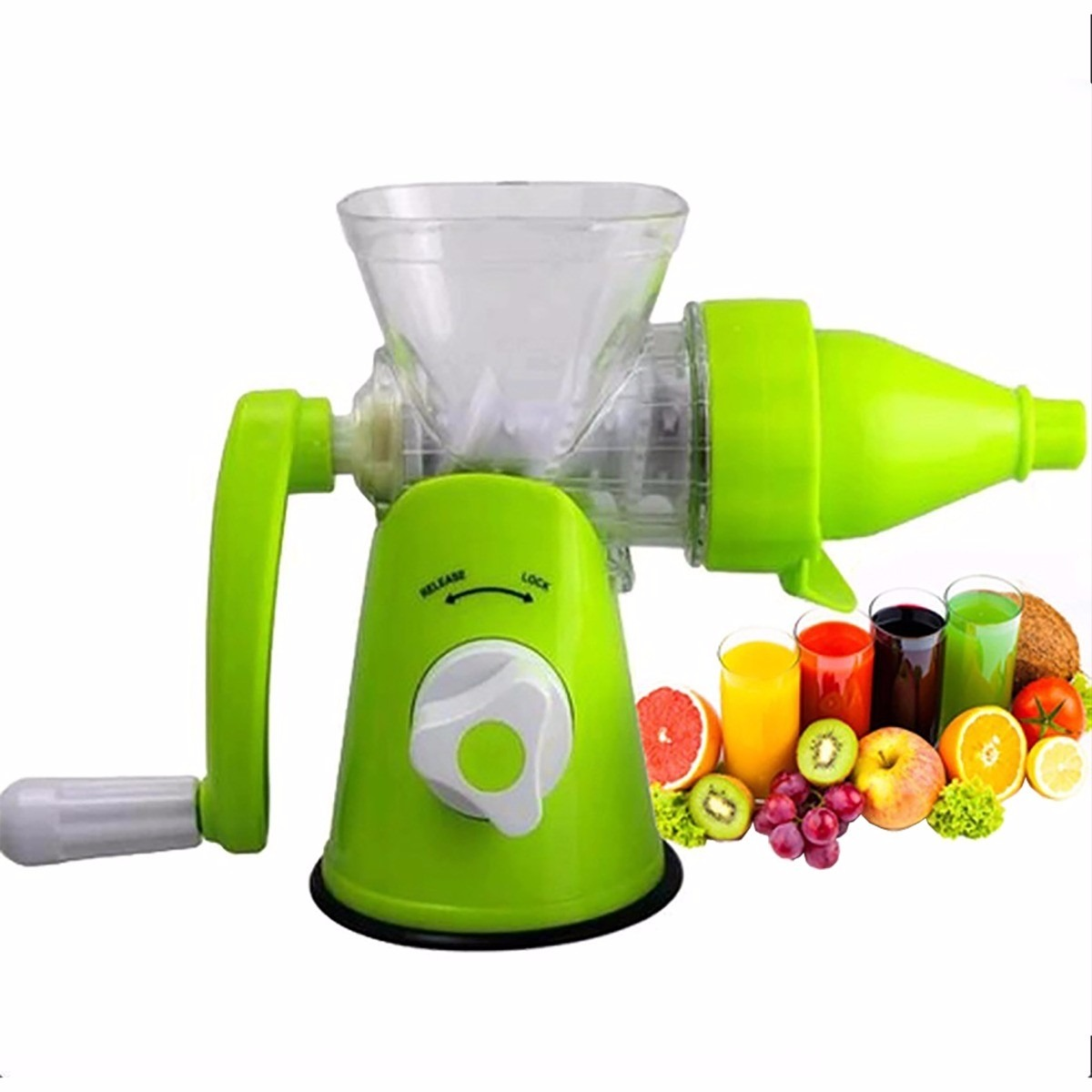 Juicer Frutas Extrator Sucos Maquina Melhor Preco Cozinha - R$ 84,98 em Mercado Livre