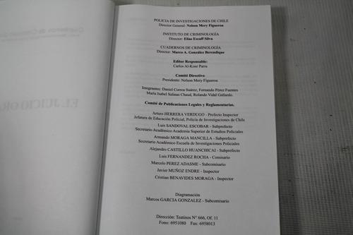 juicio oral pdi chile cuaderno de criminologia