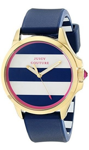 juicy couture 1901222 jetsetter analógico pantalla reloj de