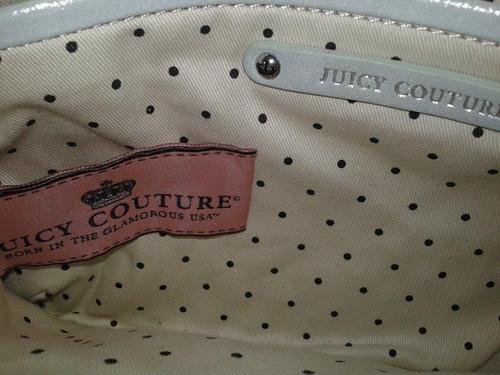juicy couture cartera sobre cuero
