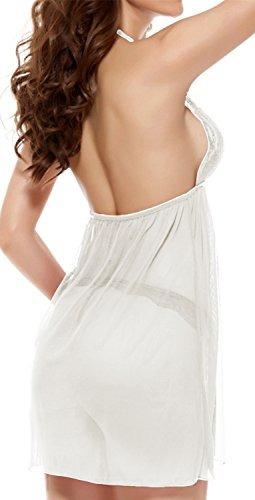 juicyrose lencería sexy ropa de dormir de encaje halter baby