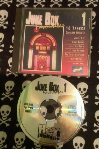 juke box  johnny ray, ricky nelson, little richard, etc .