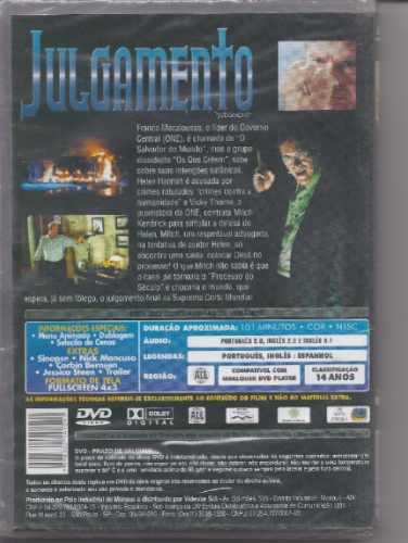 julgamento - dvd - filme - gospel