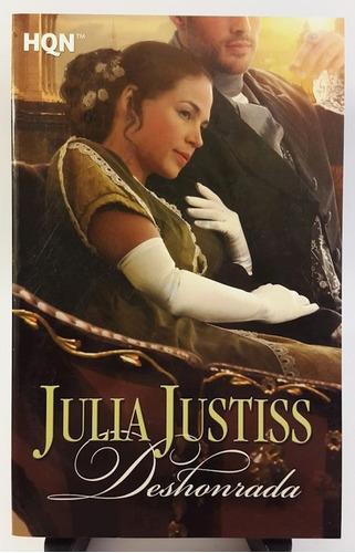julia justiss - deshonrada (papel, importado)