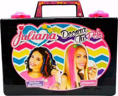 juliana decora tu pelo valija chica nena jugueteria smile