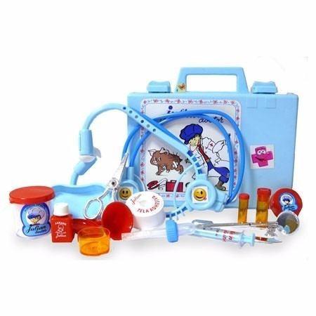juliana julian doctor valija con accesorios nene  educando