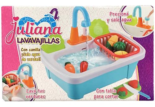 juliana lavavajilla toy canilla agua verdad cod 064 bigshop