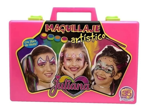 juliana valija de maquillaje c/libro artistico 35 años
